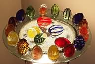 Glas-Ostereier